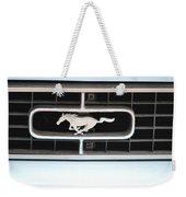 Mustang Logo Weekender Tote Bag