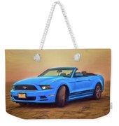Mustang Ocean Shores Beach Weekender Tote Bag