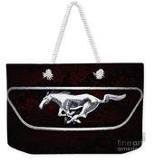 Mustang Pony Logo Weekender Tote Bag