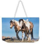 Mustang Twin Stallions Weekender Tote Bag