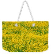 Mustard Flowers Weekender Tote Bag