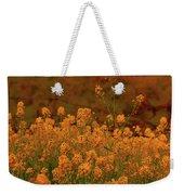 Mustard Garden Weekender Tote Bag