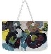 Mute Speed Weekender Tote Bag