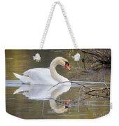 Mute Swan Glide II Weekender Tote Bag