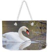 Mute Swan I Weekender Tote Bag