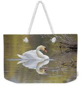 Mute Swan Reflection I Weekender Tote Bag