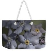 Muted Forget Me Not  Weekender Tote Bag