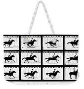 Muybridge: Horse Weekender Tote Bag