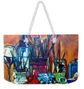 My Art Studio Weekender Tote Bag
