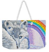 My Artic Fox Weekender Tote Bag
