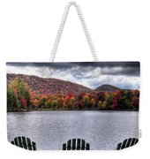 My Autumn View Weekender Tote Bag