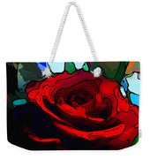 My Birthday Rose Weekender Tote Bag