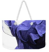 My Blue Dress Weekender Tote Bag