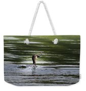 Cormorant - My Catch For The Day Weekender Tote Bag