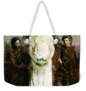 My Children Mary Gerald And Gladys Thayer Weekender Tote Bag