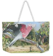 My Country - Galah Weekender Tote Bag