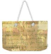 My Dear John Weekender Tote Bag