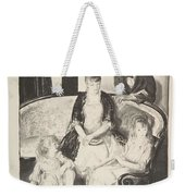 My Family, Second Stone George Bellows  Weekender Tote Bag