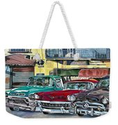 My Fathers' Cars Weekender Tote Bag