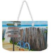 My Favorite Beaches Weekender Tote Bag