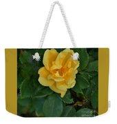 My First Yellow Rose Weekender Tote Bag