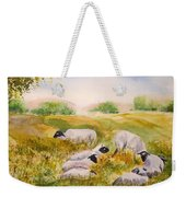 My Flock Of Sheep Weekender Tote Bag