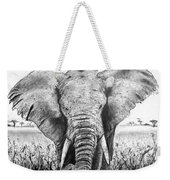 My Friend The Elephant II Weekender Tote Bag
