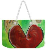 My Funny Valentine Weekender Tote Bag by Donna Blackhall