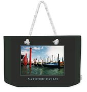 My Future Is Clear Weekender Tote Bag