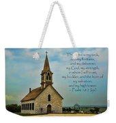 My God My Strength My Salvation Weekender Tote Bag