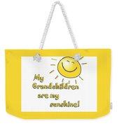 My Grand Children Weekender Tote Bag