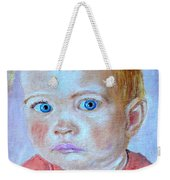 My Granddaughter Leonie  Weekender Tote Bag