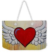 My Heart Has Wings Weekender Tote Bag