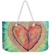 My Heart Loves You Weekender Tote Bag