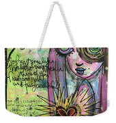 My Heart Sings Like This Little Bird Weekender Tote Bag