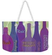 My Kind Of Wine Weekender Tote Bag by Tara Hutton