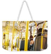 My Lifetime, My Day, My Bus, My Prision Weekender Tote Bag