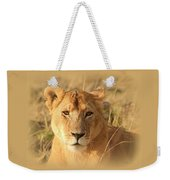 My Lion Eyes Weekender Tote Bag