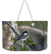 My Little Chickadee II Weekender Tote Bag