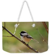 My Little Chickadee Weekender Tote Bag