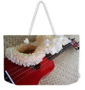 My Little Red Ukulele Weekender Tote Bag