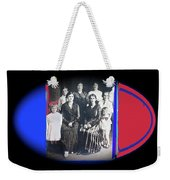 My Mother And Her Family Virginia Minnesota Circa 1919 Weekender Tote Bag