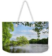 My Place By The River Weekender Tote Bag
