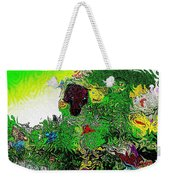 My Strange Wonderful And Somewhat Creepy Garden Weekender Tote Bag