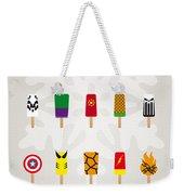 My Superhero Ice Pop - Univers Weekender Tote Bag by Chungkong Art