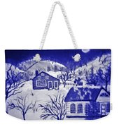 My Take On Grandma Moses Art Weekender Tote Bag