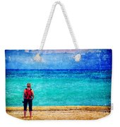 My Thoughts Are Like Sea Waves Weekender Tote Bag