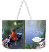 My Turn - Gently Cross Your Eyes And Focus On The Middle Image Weekender Tote Bag