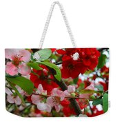 My Two Quince Worth Weekender Tote Bag