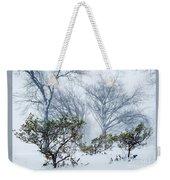 My Winter Love Weekender Tote Bag